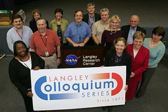 photograph of colloquium committee in 2006